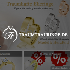 Traumtrauringe